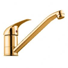 DoratO Single Lever Kitchen Tap in Gold